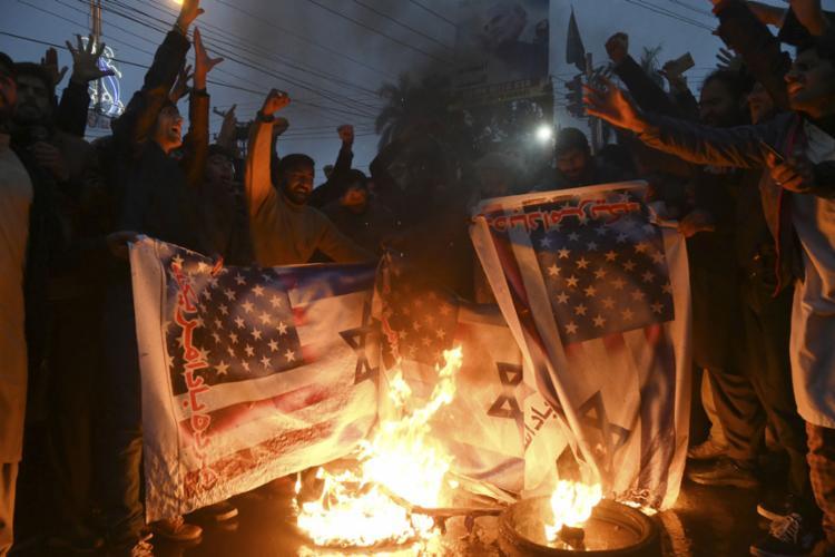 Ataque iraniano seria retaliação pela morte do general Qassim Suleimani | Arif Ali | AFP - Foto: Arif Ali | AFP