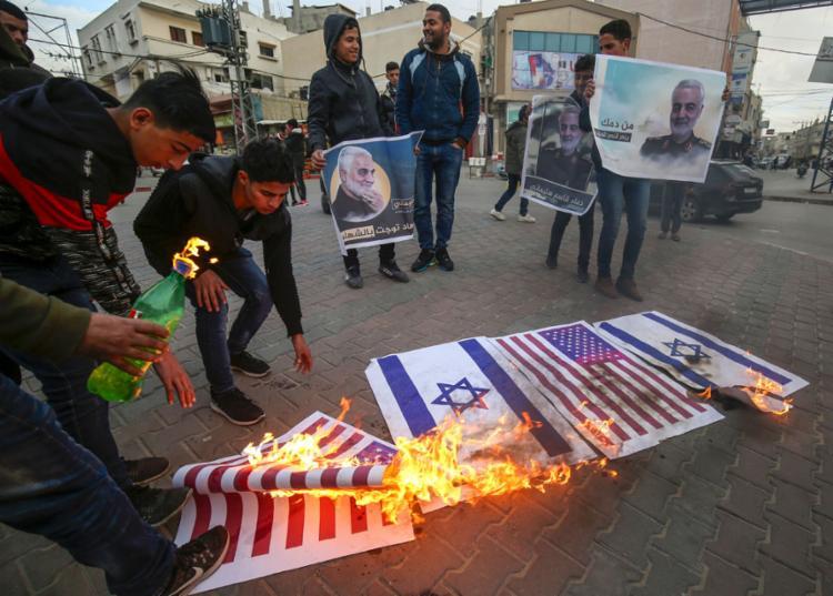 O ataque do Irã está em retaliação pela morte do general iraniano Qassem Soleimani   Foto: Said Khatib   AFP - Foto: Said Khatib   AFP