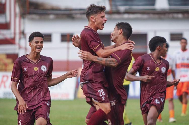 O Leão Grená goleou o Carajás por 8 a 2 | Foto: Renan Oliveira | EC Jacuipense - Foto: Renan Oliveira | EC Jacuipense