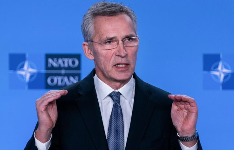O secretário-geral da Otan, Jens Stoltenberg, alertou que essa reorganização não significa aumentar o número de tropas de combate no local | Foto: Kenzo Tribouillard | AFP - Foto: Kenzo Tribouillard | AFP