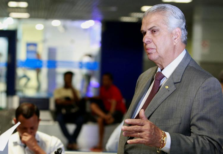 O ex-deputado Irmão Lázaro concorreu ao cargo de senador nas eleições de 2018 e obteve, somente em Salvador, cerca de 360 mil votos | Foto: Joá Souza | Ag. A TARDE - Foto: Joá Souza | Ag. A TARDE