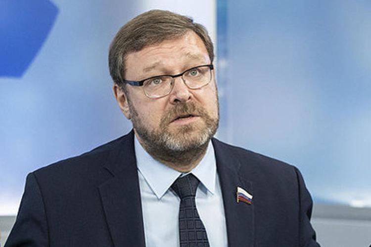 Konstantin Kosachev, presidente do comitê de Relações Exteriores do parlamento russo: