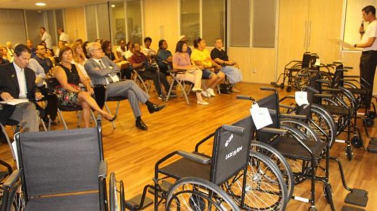 A ação do sistema Fecomércio ajuda pessoas com deficiênciae contribui com o meio ambiente | Foto: Reprodução | Fecomércio-BA - Foto: Reprodução | Fecomércio-BA