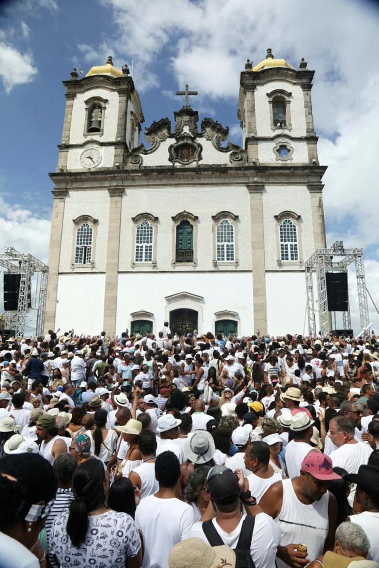 Celebrações acontecerão dentro da Basílica, com o acesso por ordem de chegada e transmitidas através das redes sociais   Foto: Uendel Galter   Ag. A TARDE - Foto: Uendel Galter   Ag. A TARDE