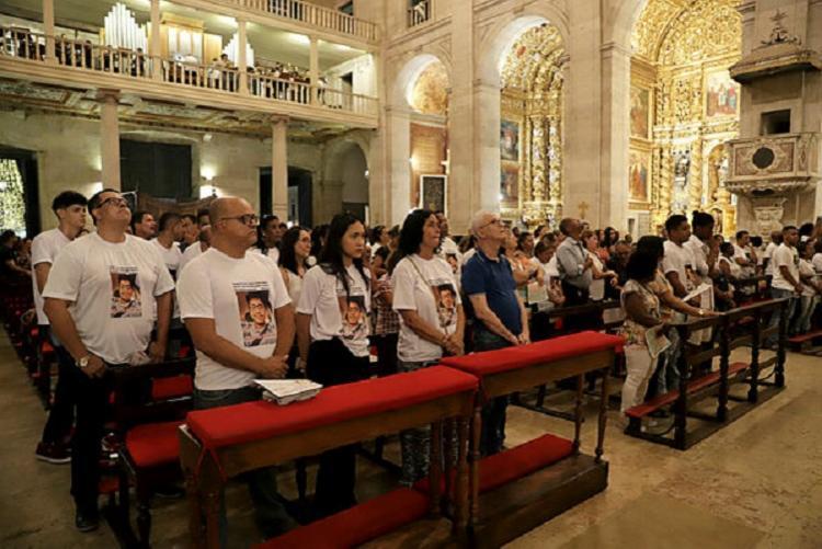 Celebração aconteceu na Catedral Basílica   Foto: Uendel Galter   AG. A TARDE - Foto: Uendel Galter / AG. A TARDE