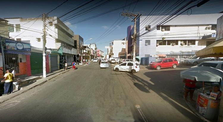 Acidente aconteceu na Rua Thomaz Gonzaga | Foto: Reprodução | Google StreetView - Foto: Reprodução | Google StreetView