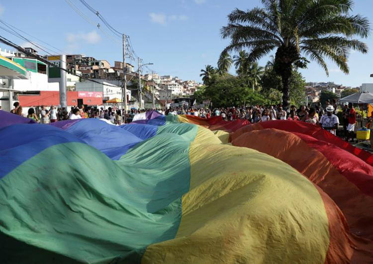 Mais de 100 mortes contra a população trans foram registrados no Brasil | Foto: Uendel Galter | Ag. A TARDE - Foto: Uendel Galter | Ag. A TARDE