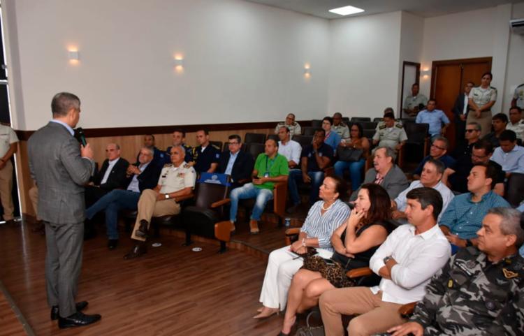 Um dos assuntos debatidos foi a instalação dos portais de segurança   Foto: Divulgação   MP-BA - Foto: Divulgação   MP-BA