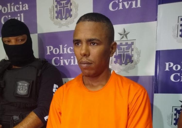 Benjamim estava em prisão temporária desde o dia 26 de dezembro | Foto: Nicolas Melo | Ag. A TARDE - Foto: Nicolas Melo | Ag. A TARDE