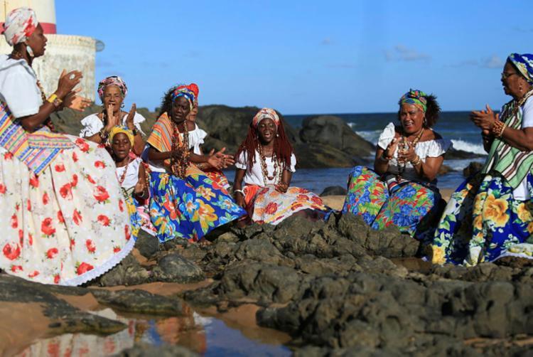 As Ganhadeiras de Itapuã serão homenageadas pela Viradouro no Carnaval do RJ | Foto: Joá Souza | Ag. A TARDE - Foto: Joá Souza | Ag. A TARDE