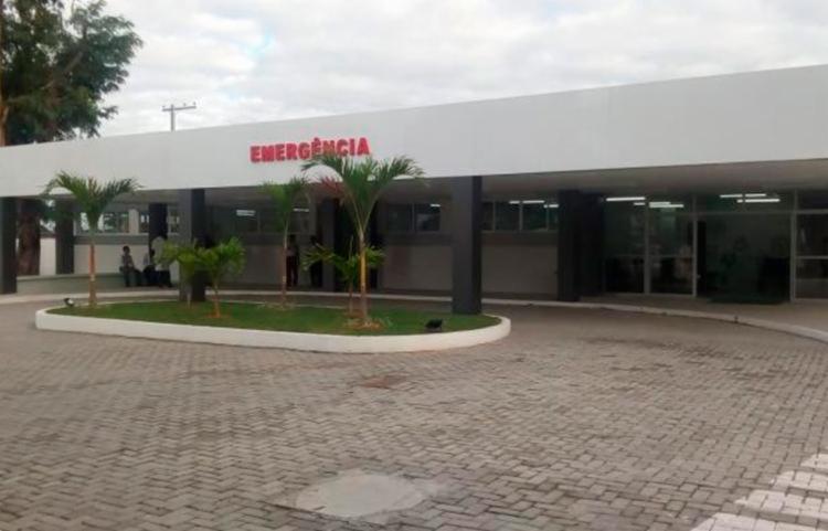 A jovem foi encaminhada para o Hospital Geral Clériston Andrade, mas não resistiu   Foto: Reprodução - Foto: Reprodução
