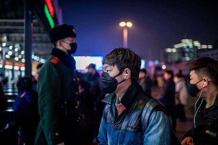 O número total de pessoas infectadas subiu para 444 na província de Hubei | Foto: Nicolas Asfouri | AFP - Foto: Nicolas Asfouri | AFP