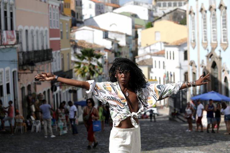 Majur no Centro Histórico de Salvador: álbum sai até março - Foto: Adilton Venegeroles/Ag. A TARDE