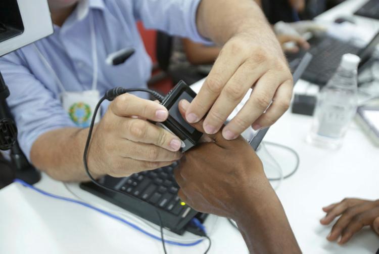 objetivo da ação é alavancar o recadastramento biométrico no município   Foto: Uendel Galter   Ag. A TARDE - Foto: Uendel Galter   Ag. A TARDE