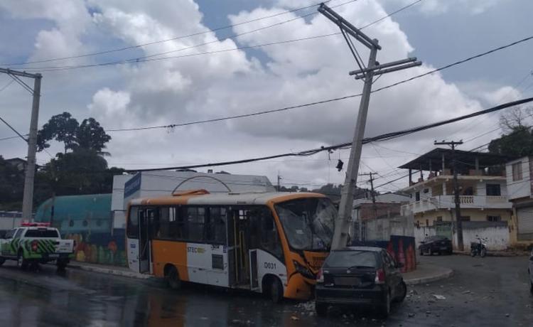 Não houve feridos | Foto: Divulgação | Transalvador - Foto: Divulgação | Transalvador