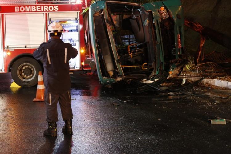 Vinte e sete pessoas ficaram feridas no acidente, ocorrido no dia 13 de junho do ano passado | Foto: Adilton Venegeroles | Ag A TARDE - Foto: Adilton Venegeroles | Ag A TARDE