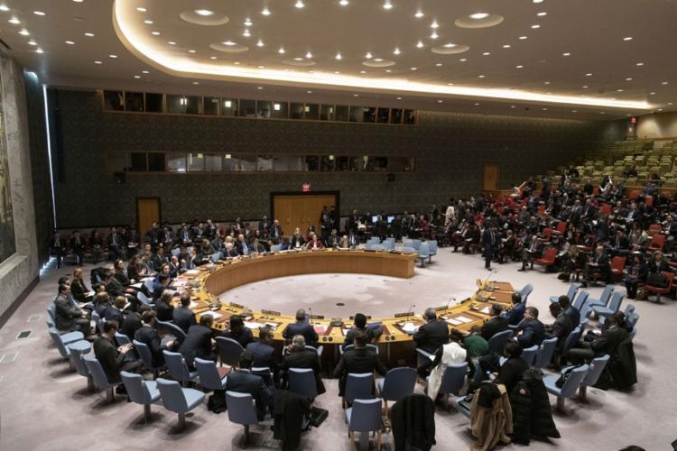 A declaração foi adotada no início de um debate sobre o cumprimento da Carta das Nações Unidas | Foto: Mark Garten | AFP - Foto: Mark Garten | AFP