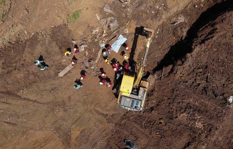 Dia 25 de janeiro desmoronamento de barragem da Vale completa 1 ano   Foto: Divulgação   Corpo de Bombeiros de Minas Gerais - Foto: Divulgação   Corpo de Bombeiros de Minas Gerais