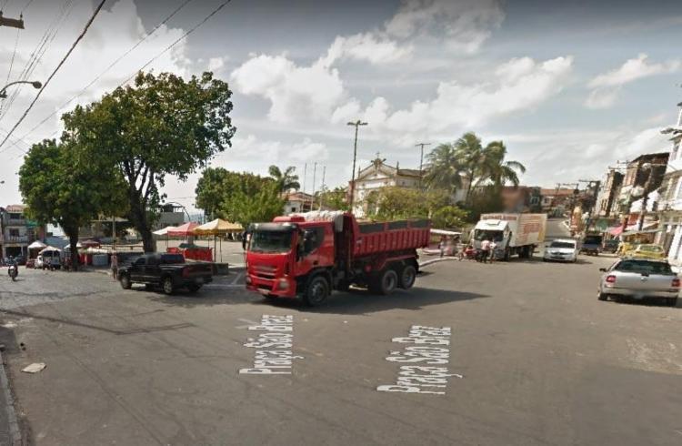 Segundo testemunhas, autor dos disparos é um ex-namorado da vítima | Foto: Reprodução | Google Street View - Foto: Reprodução | Google Street View