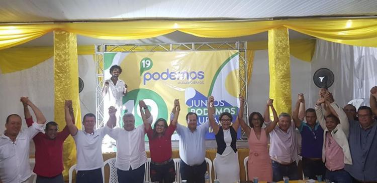 Com isso, a oposição ao prefeito Antônio Elinaldo (DEM) se fortalece para o pleito que ocorre em outubro - Foto: Divulgação