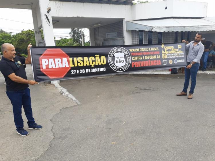 Estado de greve foi definido em assembleia conjunta | Foto: Divulgação | Sinspeb - Foto: Divulgação | Sinspeb