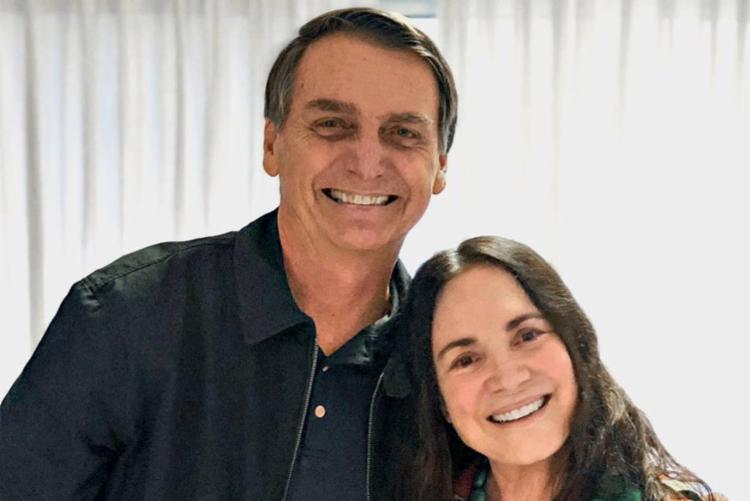 Atriz analisa convite de Bolsonaro para assumir cargo   Foto: Reprodução   Twitter - Foto: Reprodução   Twitter