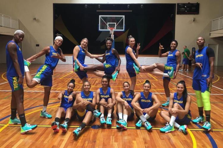 Iime feminino vive um bom momento desde a chegada do treinador José Neto | Foto: Basquete Brasil | CBB - Foto: Basquete Brasil | CBB