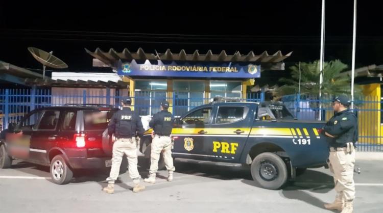 Veículo havia sido roubado em 2013 | Foto: Divulgação | PRF - Foto: Divulgação | PRF