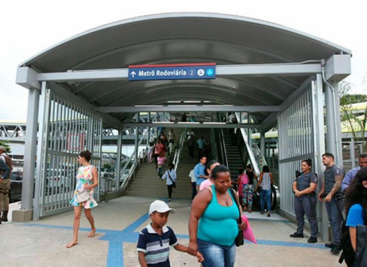 Caso ocorreu na Estação Rodoviária do Metrô | Foto: Manu Dias | GOVBA - Foto: Manu Dias | GOVBA