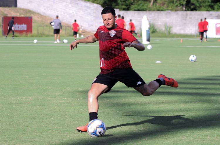 Rodrigo Carioca é um dos sub-23 no time principal | Letícia Martins | EC Vitória | Divulgação - Foto: Letícia Martins | EC Vitória | Divulgação