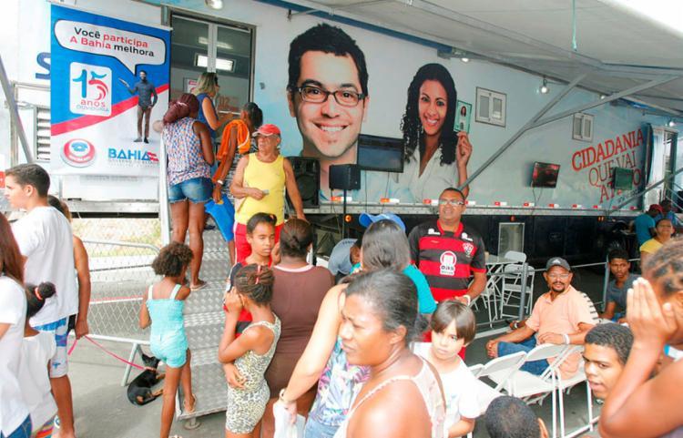 Serviço estará disponível no local até 31 de janeiro | Foto: Luciano da Matta | Ag. A TARDE - Foto: Luciano da Matta | Ag. A TARDE