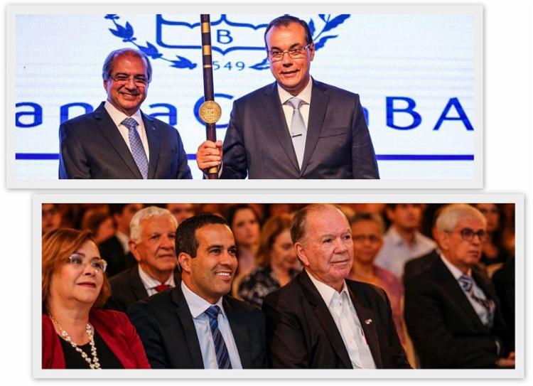Autoridades como o vice-governador João Leão e o vice-prefeito Bruno Reis estiveram presente | Foto: Divulgação - Foto: Divulgação