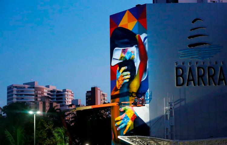 Artista é reconhecido mundialmente pelas suas obras | Foto: Rafael Martins | Ag. A TARDE - Foto: Rafael Martins | Ag. A TARDE