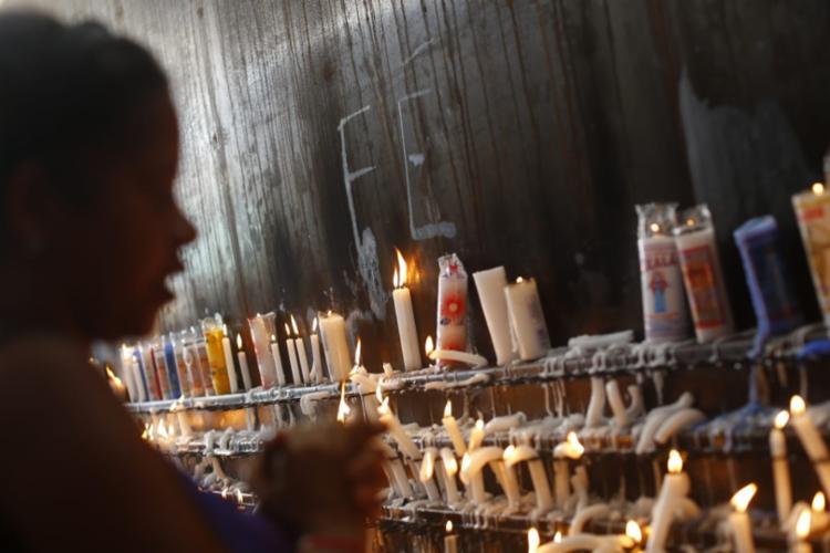 Dia é marcado por orações para pedir bênçãos e proteção | Foto: Rafael Martins | Ag. A TARDE - Foto: Rafael Martins | Ag. A TARDE