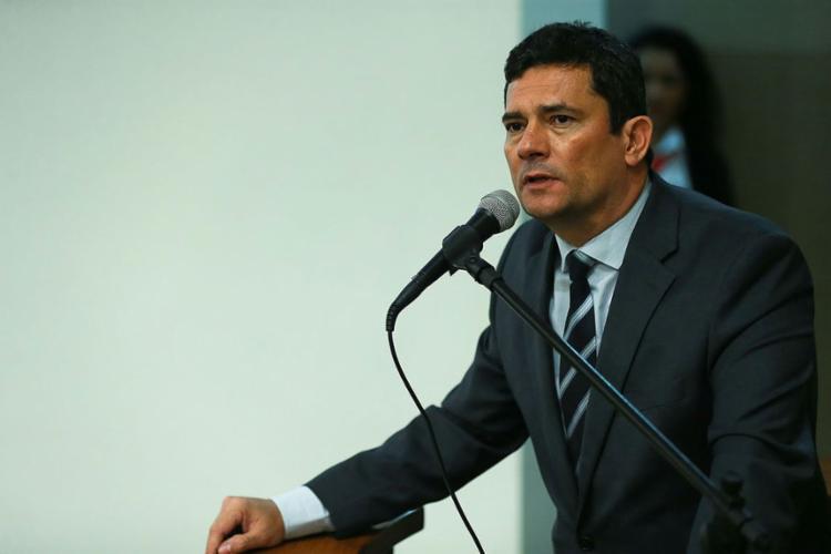 Sérgio Moro anunciou 26 acusados de crimes graves e violentos | Foto: José Cruz | Agência Brasil - Foto: José Cruz | Agência Brasil