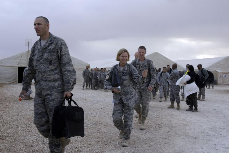 Os Estados Unidos enviará de 3.000 a 3.500 soldados ao Oriente Médio após morte de Soleimani | Foto: Anbar Province | AFP - Foto: Anbar Province | AFP