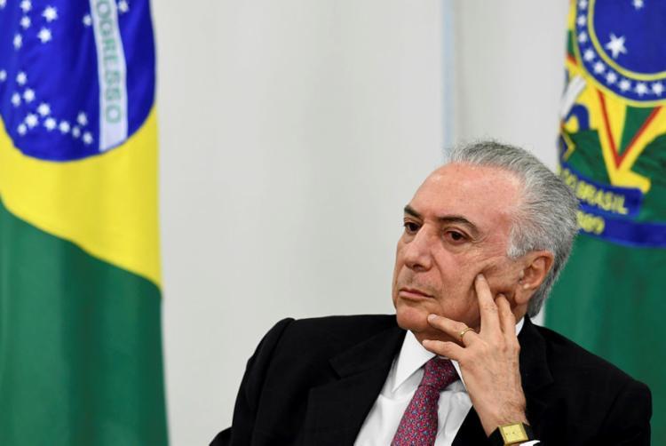 Ex-presidente estava sendo investigado por suposta lavagem de dinheiro | Foto: Evaristo Sá | AFP - Foto: Evaristo Sá | AFP