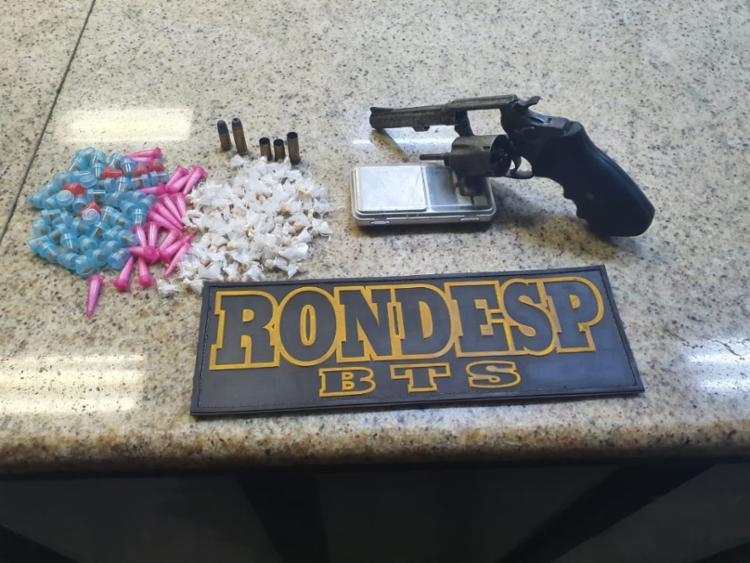 Dupla tinha drogas, armas, celulares e munições | Foto: Divulgação | SSP - Foto: Divulgação | SSP