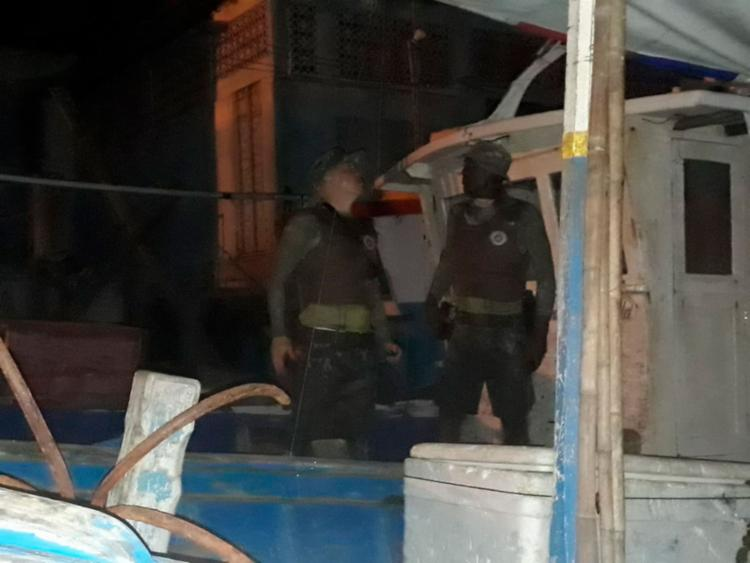 Suspeito escondia drogas em uma embarcação   Divulgação   SSP - Foto: Divulgação   SSP