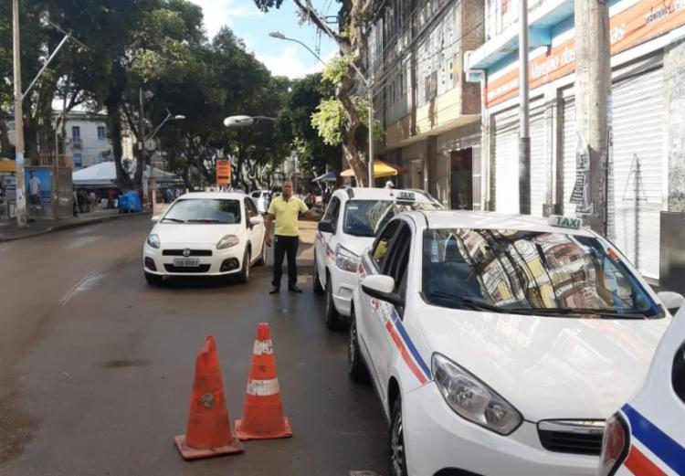 Motoristas esperam mudança do ponto de táxis | Foto: Divulgação | AGT - Foto: Divulgação | AGT