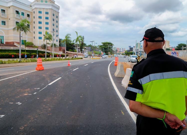 Alterações são feitas para avançar com as obras do BRT | Foto: Divulgação - Foto: Divulgação