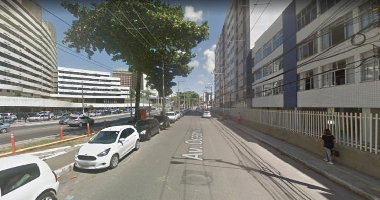 O trecho passa por requalificação   Foto: Reprodução   Google Street View - Foto: Reprodução   Google Street View