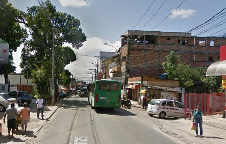 Ocorrência registrada na manhã desta sexta-feira | Reprodução | Google Street View - Foto: Google Street View