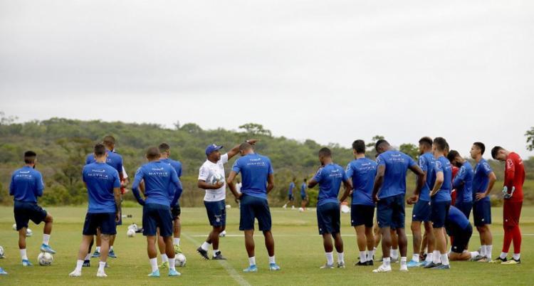 Time comandado por Roger Machado busca o triunfo na temporada 2020 | Felipe Oliveira | EC Bahia - Foto: Felipe Oliveira | EC Bahia