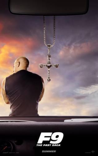 Cartaz foca em icônico crucifixo usado por Dominic | Foto: Divulgação