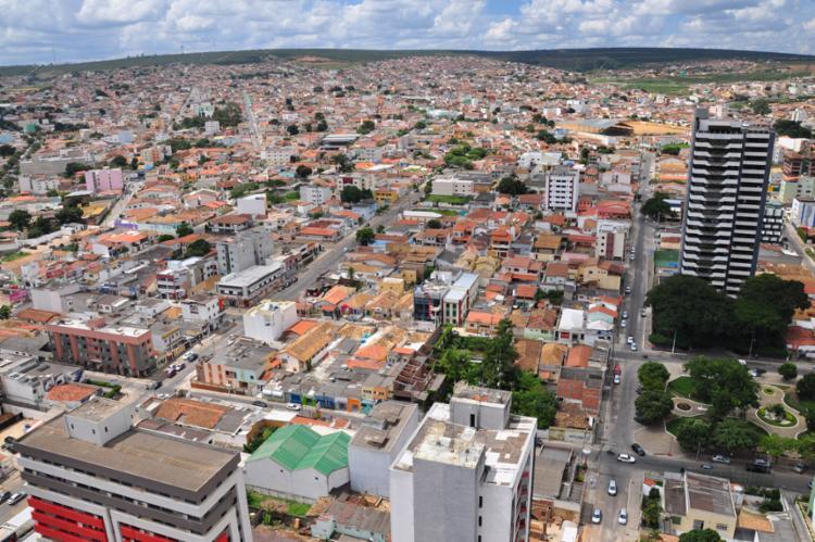 Vista da cidade de Vitória da Conquista   Foto: Divulgação   PMVC - Foto: Divulgação   PMVC