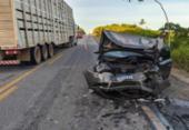 Acidente deixa seis feridos na BR-101 | Foto: Reprodução | Teixeira Hoje