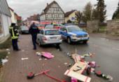 Veículo atropela e deixa vários feridos em Carnaval na Alemanha | Foto: Elmar Schulten | AFP