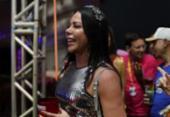 Aninha Marques acompanha Bell Marques no Camarote do Nana | Foto: