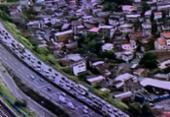 Capotamento deixa ferido na avenida Bonocô | Foto: Reprodução | Google Street View
